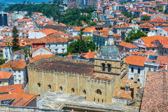 Se Velha, old Cathedral of Coimbra. Portugal. Stock Images
