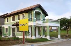 Se vende la casa Foto de archivo