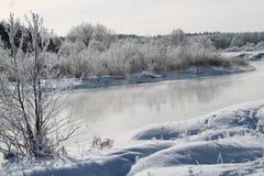 Se viene el invierno Foto de archivo
