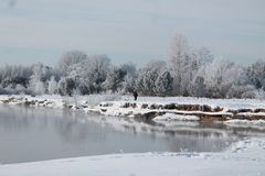 Se viene el invierno Fotos de archivo