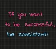 Se você quer ser bem sucedido Imagem de Stock Royalty Free