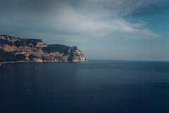 Sea . Crimea sea. amazing place in russia Stock Photos