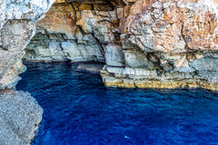 Sea ​​caves Stock Image