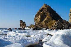 Sea cliffs Royalty Free Stock Photo
