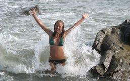 Sea fun Stock Image