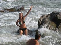 Sea fun Stock Photos