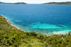 Sea ​​in Croatia Royalty Free Stock Photography