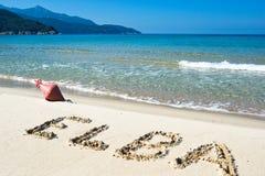 Sea of Elba Royalty Free Stock Image