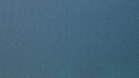 Sea surface in dark blue with a bird's-eye view Royalty Free Stock Photos