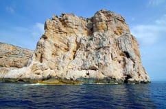 Sea cliff Stock Image
