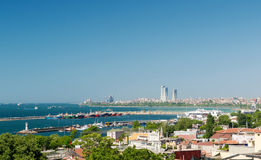 Sea of ��Marmara in Istanbul Stock Photography