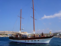 Sea. Yachting and sea cruises - Malta, Mediterranean Sea Royalty Free Stock Photos