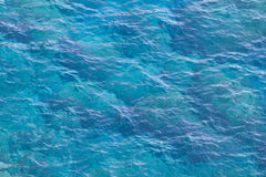 Sea. Bright blue color of the sea Stock Images