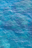 Sea. Bright blue color of the sea Royalty Free Stock Image