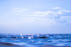 Sea. Warm sea on a hot sunny day Royalty Free Stock Photography