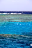 Sea. A red sea in the sunny day royalty free stock photography