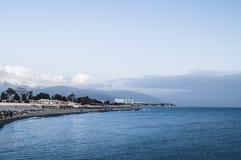 Coastline along the Black Sea stock photo