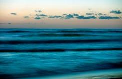 Sea-2. Sea waves, Sunrise over baltic Stock Images