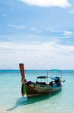 The sea. Sky and sea from Thailand Royalty Free Stock Photography