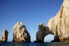 Sea. The arch of Cabo San Lucas, Baja California Sur, Mexico Royalty Free Stock Photos