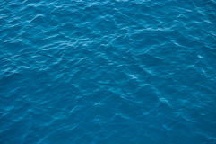 Sea. Deep blue water with waves Stock Images