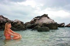 In the sea Stock Photo