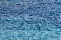 The sea. Close-up of the sea near mallorca Royalty Free Stock Photos