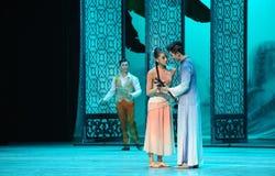 Sea acto detectado del asunto- en segundo lugar de los eventos del drama-Shawan de la danza del pasado Imagenes de archivo