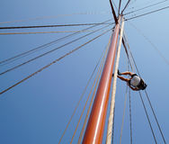 Sea adventure - sailing vessel Adornate, Constanta Stock Photo