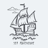 Sea adventure Royalty Free Stock Photography