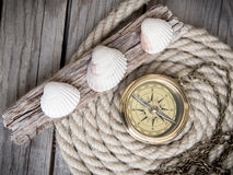 Sea adventures background Royalty Free Stock Image