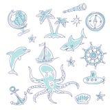 Sea adventures Stock Image