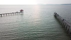Sea Aerial view clip. Top view,amazing nature background. stock video footage
