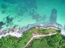 Free Sea Aerial View,Top View,amazing Nature Background.The Color Of Stock Photos - 114155623