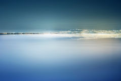 Sea in Akko (Acre), israel Stock Images