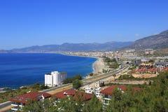 Sea, Alanya Stock Image