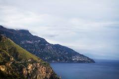 Sea in Amalfi Coast Royalty Free Stock Photos
