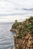 Sea in Amalfi Coast Royalty Free Stock Photography