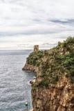Sea in Amalfi Coast Royalty Free Stock Photography