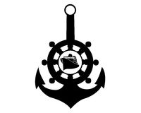 Sea anchor Royalty Free Stock Images