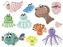 Sea animals Stock Photography