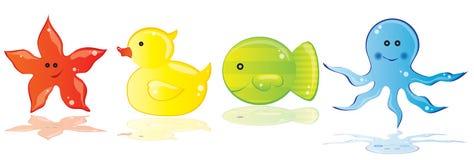 Sea animals Royalty Free Stock Image
