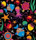 Sea animals. Background. Nature. Royalty Free Stock Image