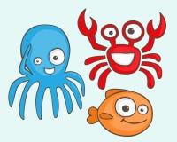 Sea animals Royalty Free Stock Photo