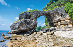 Sea arch. Close up of sea arch at Neil Island, Andaman, India Royalty Free Stock Image