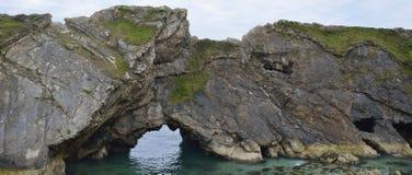 Sea Arch, Stair Hole Stock Photos