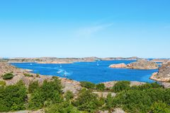 Sea archipelago Stock Photography