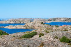 Sea archipelago Royalty Free Stock Images