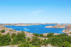 Sea archipelago Stock Image