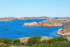 Sea archipelago Royalty Free Stock Image